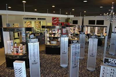 Inside 50 Dollar Eye Guy Store - Eyeglasses Pensacola - Fifty Dollar Eye Guy